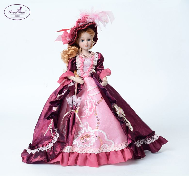 10 Hopelessly Romantic Victage Victorian Porcelain Doll 25cm Birthday Gift Home Decoration Wedding Gif Masquerade Dresses Doll Dress Porcelain Dolls Value