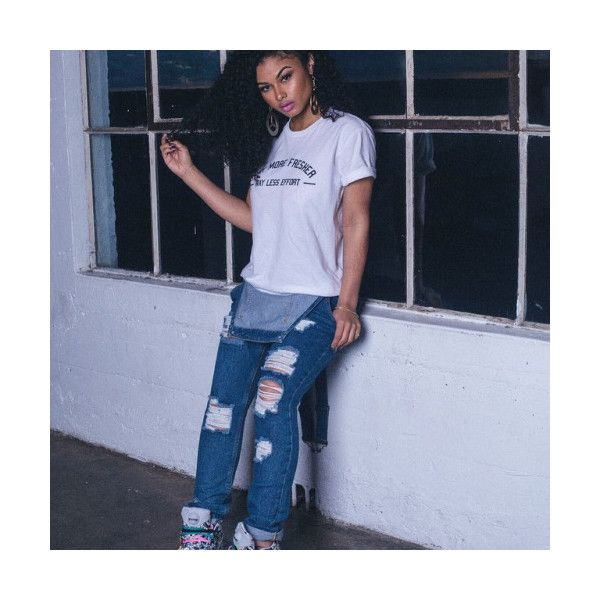 Thug Angel ❤ liked on Polyvore featuring alyssa