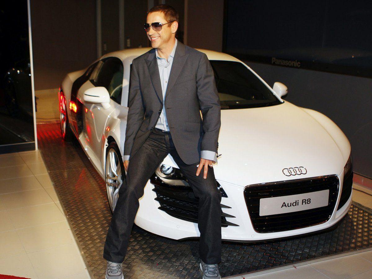 Robert Downey Jr Audi R8