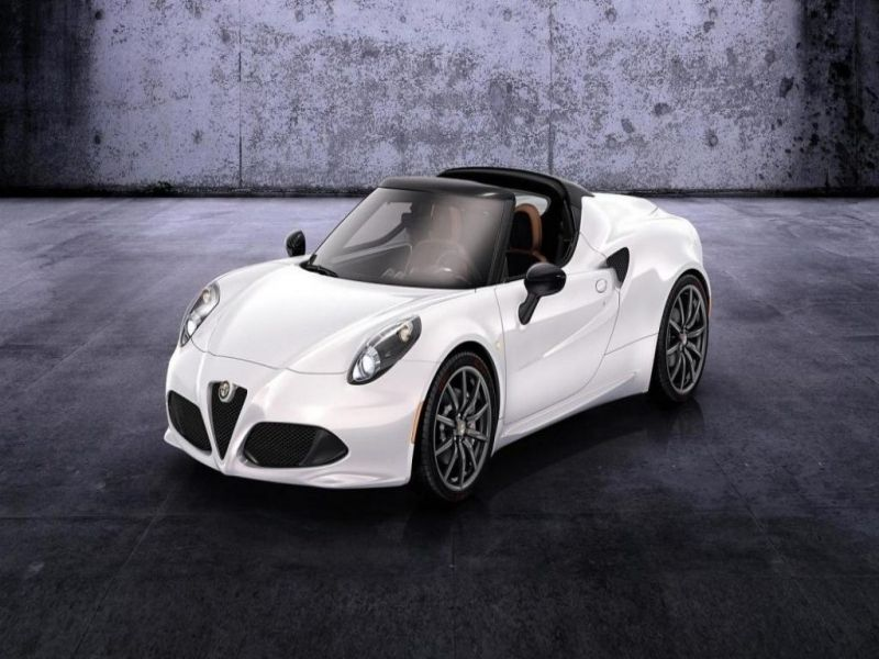 2018 alfa romeo 4c spider redesign and price : car review 2018