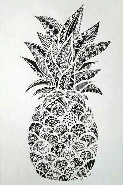 Hand Drawn Zentangle Doodle Drawings