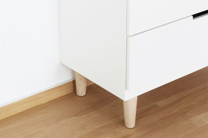Möbelfüße für Ikea Nordli Kommode | Möbelfüße, Ikea und Kommode