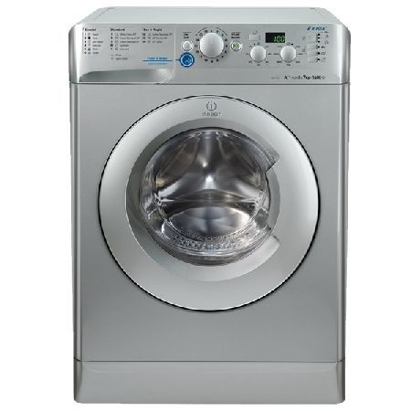 Indesit XWD71252S INNEX 1200rpm Washing Machine 7kg Load Class A   Silver (Barcode EAN=8007842887068) http://www.MightGet.com/january-2017-13/indesit-xwd71252s-innex.asp