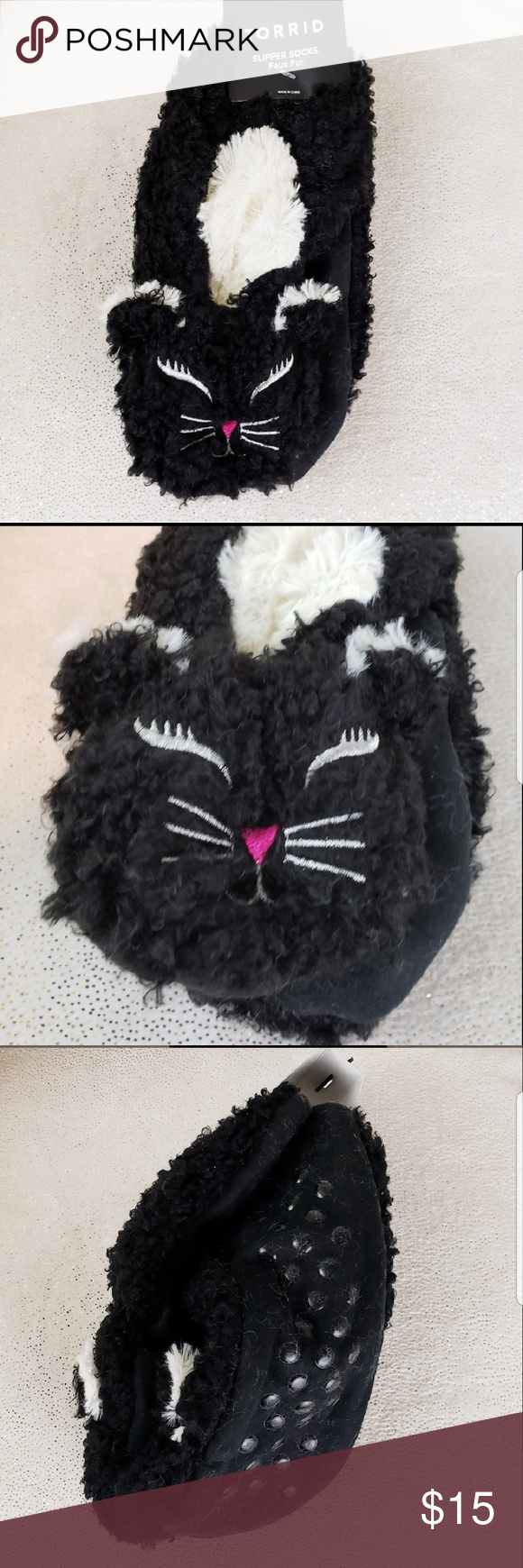 Torrid Kitty Cat Slipper Socks