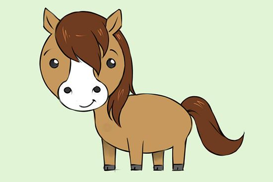 How to Draw a Horse: 21 steps (with pictures) - wikiHow