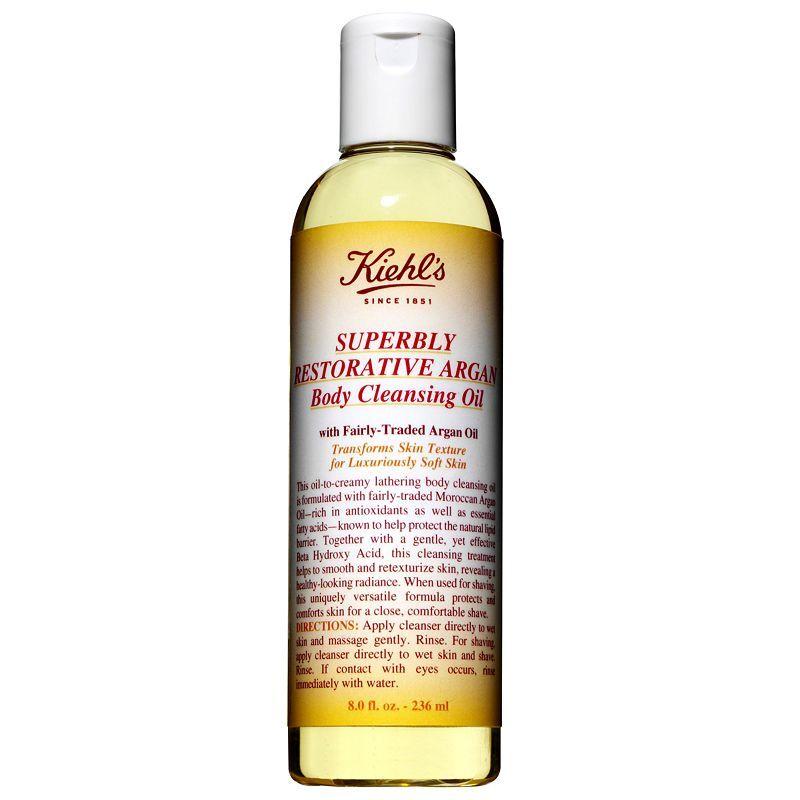 Buy Kiehl's Superbly Restorative Argan Body Cleansing Oil, 200ml   £29