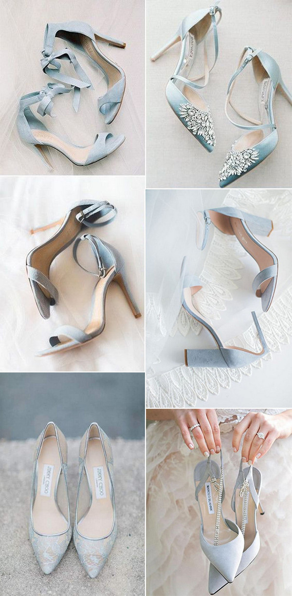 18 The Most Gorgeous Wedding Shoes For 2021 Brides Oh Best Day Ever Wedding Shoe Trend Blue Bridal Shoes Blue Wedding Shoes