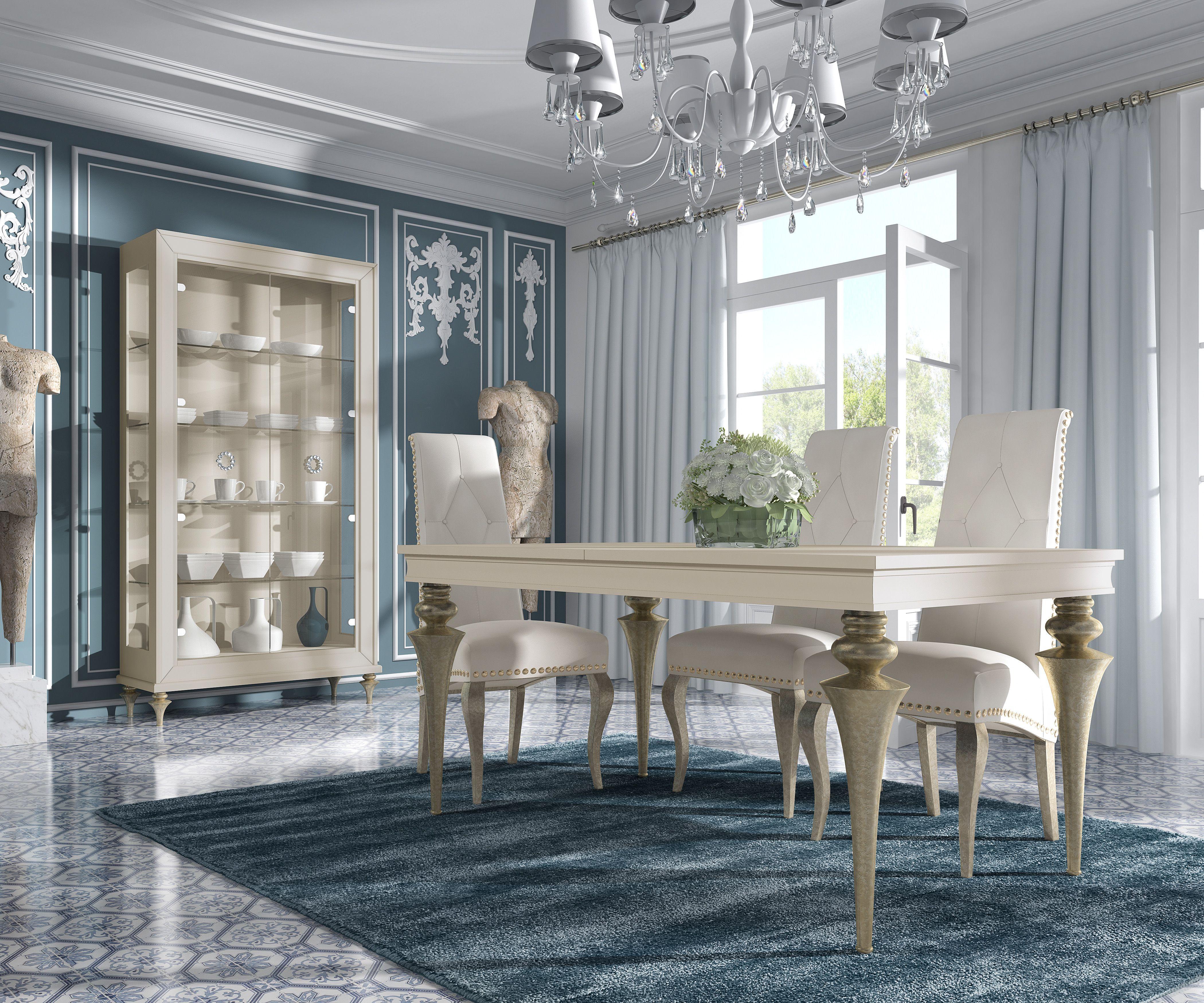 Mesa, silla y vitrina de la firma Mugali. Descúbrela en nuestra ...