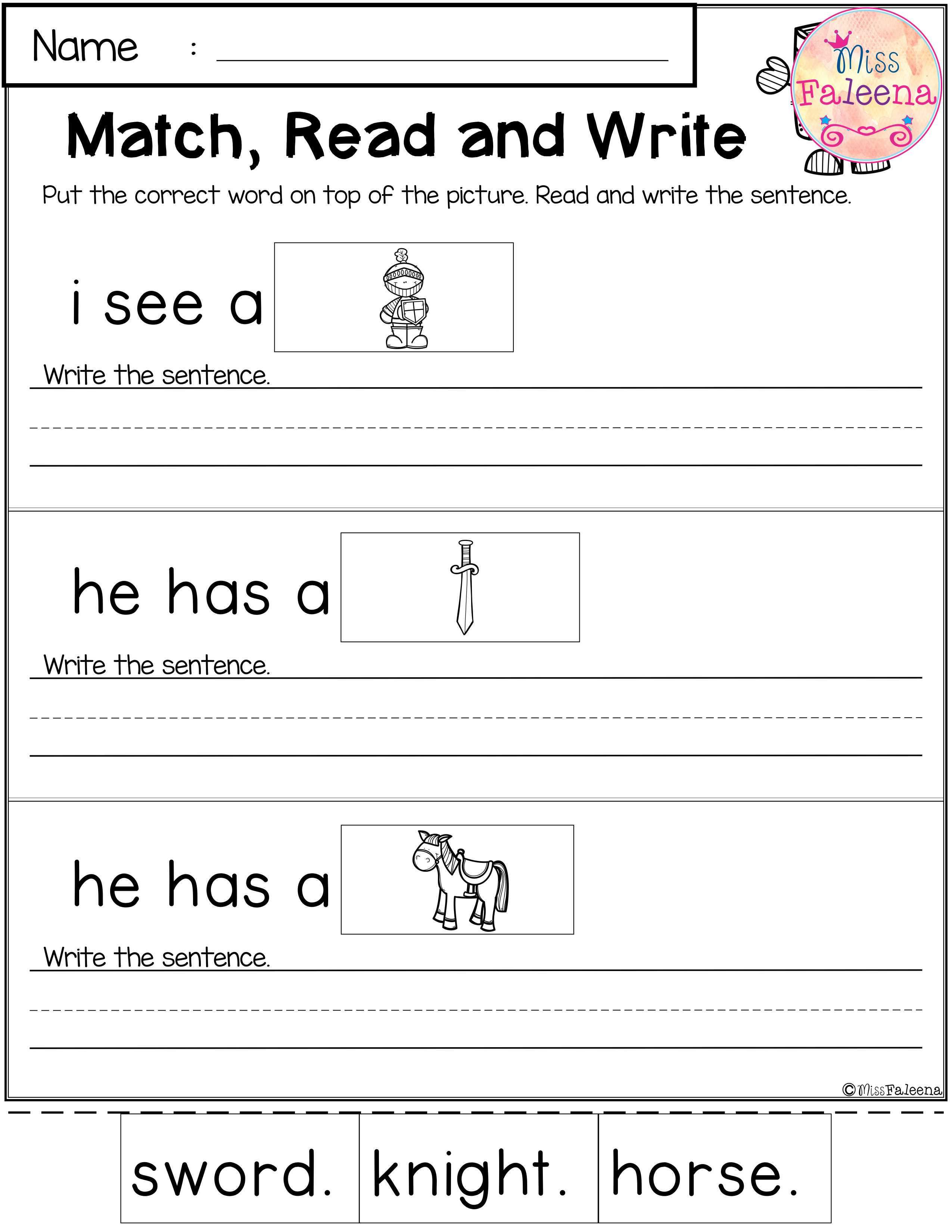 October Reading And Writing Practice This Product Has 20 Pages Of Reading And Writing Practice This P Writing Practice October Reading First Grade Worksheets [ 3300 x 2550 Pixel ]