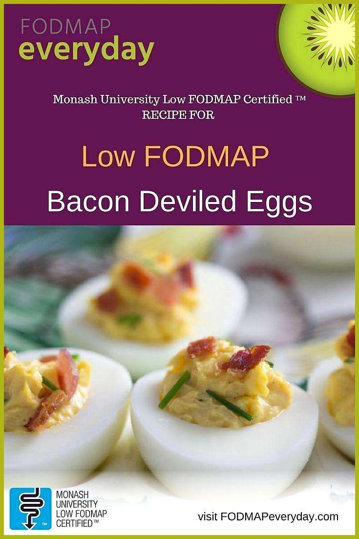 Low FODMAP Bacon Deviled Eggs The Effective Pictures We Offer You About holiday appetierz vegetaria