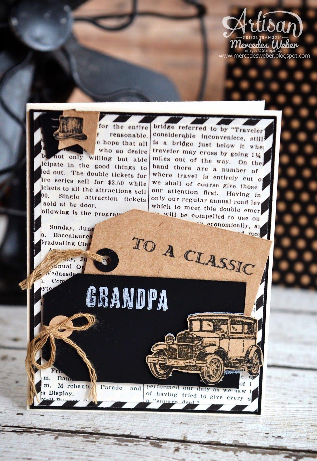 Mercedes weber my paper paradise stampin up artisan blog hop guy