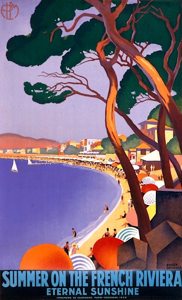 Summer on the French Riviera poster.jpg (Image JPEG, 608×1000 pixels)