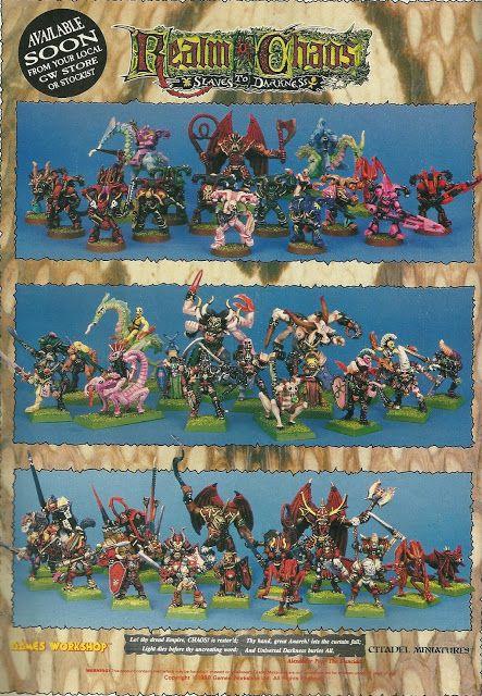 Realm of Chaos 80s | WFB: Old School | Fantasy miniatures, Fantasy