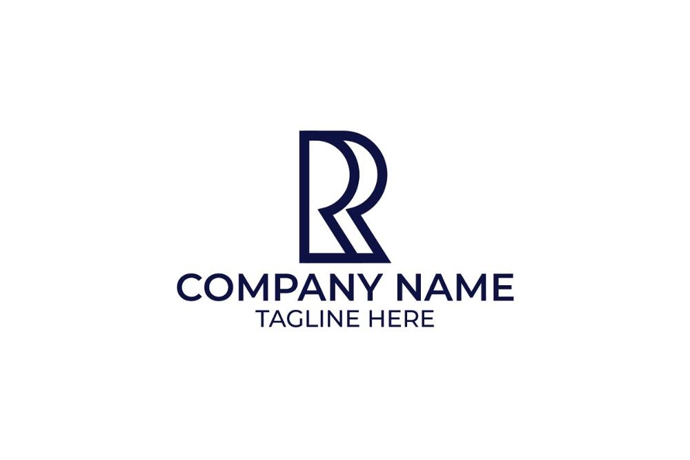 Reflexion Logo United States Letter R Letter Logo Lettering