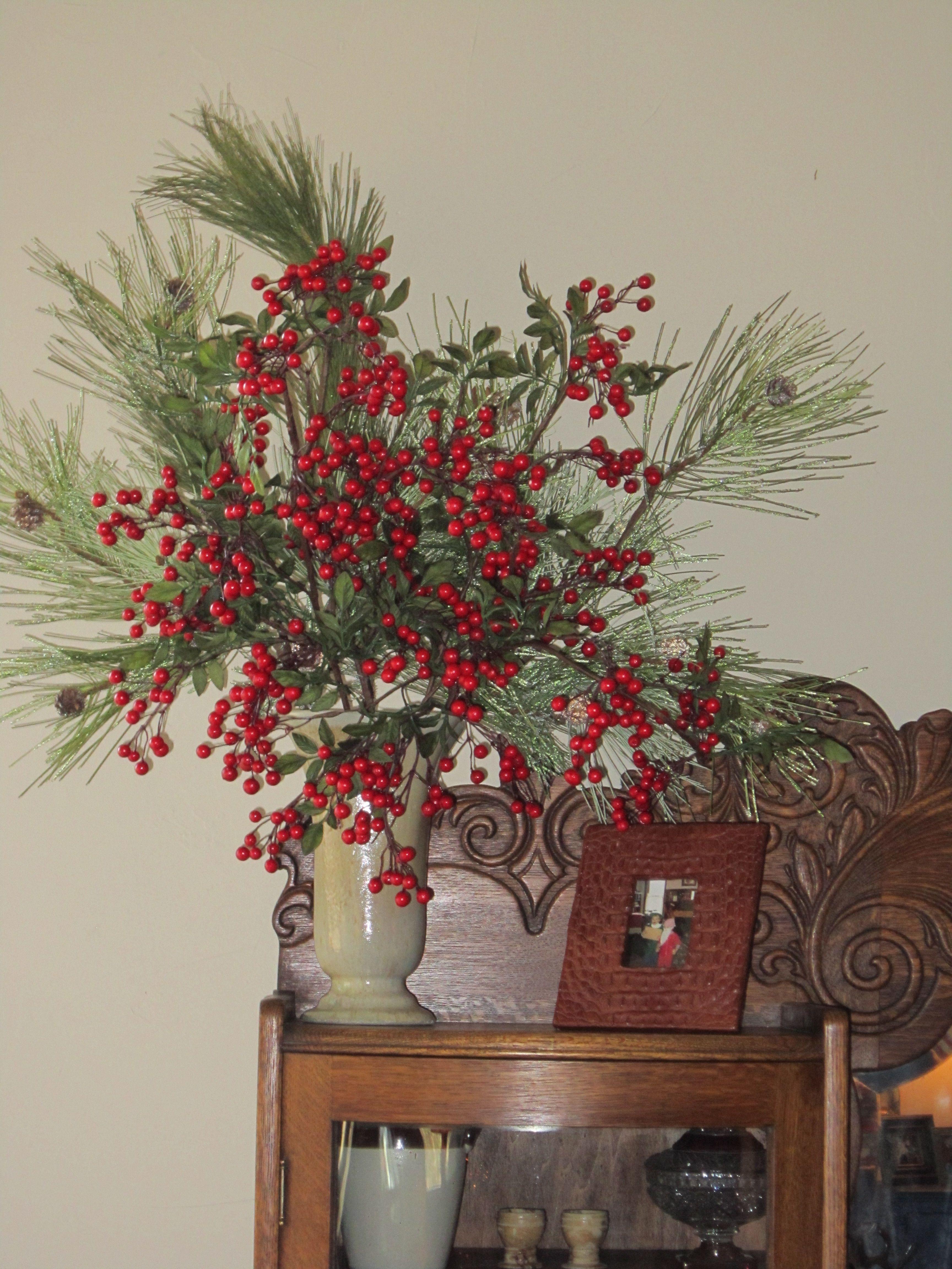 A Christmas Arrangement.Pin On Christmas