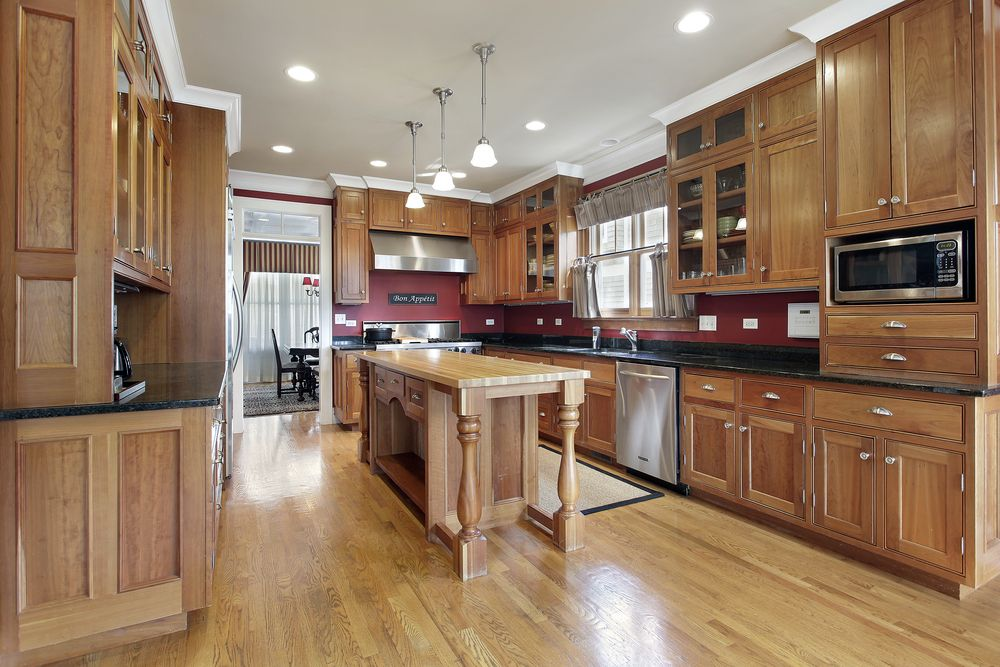 30 custom luxury kitchen designs that cost more than for Kitchen cabinet section