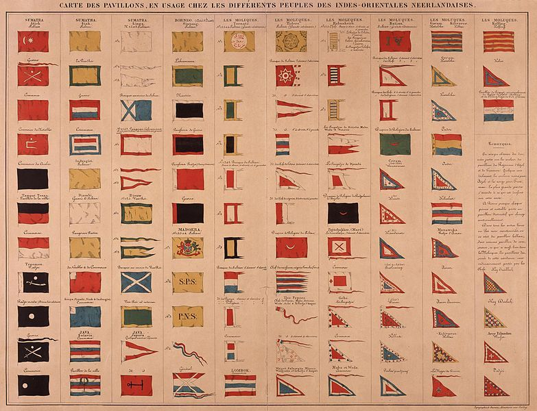 File:AMH-5596-NA Different flags in Dutch East India.jpg