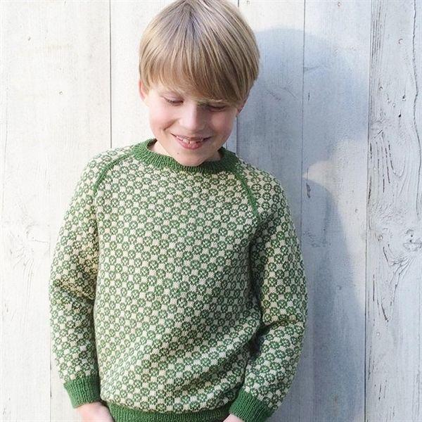 ce622c8a1a38a4 146 Carl-Emils sweater fra caMaRose - Køb garn og opskrift til Carl-Emils