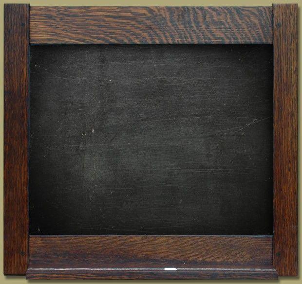 Framed Slate Chalkboard   Home   Pinterest   Slate and Chalkboards