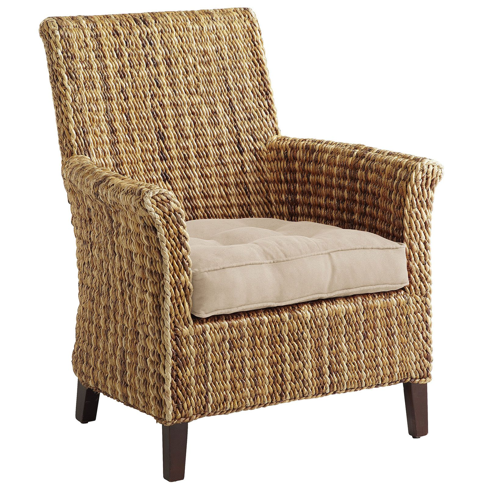 Perfect Sonita Wicker Armchair