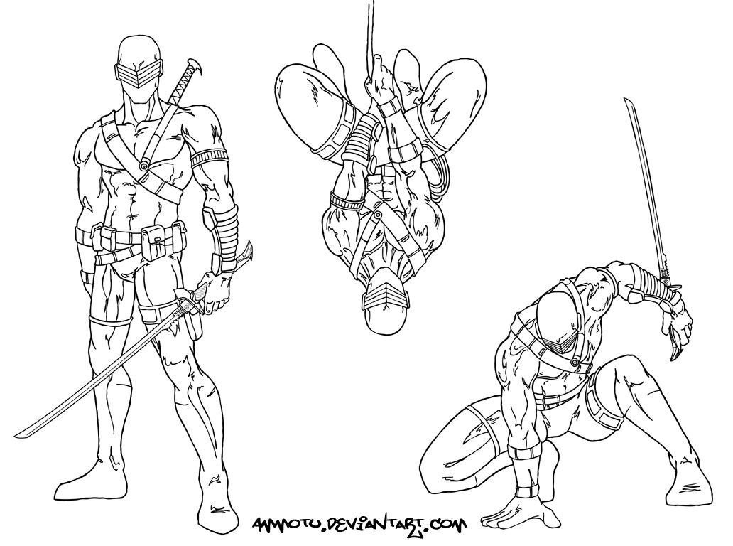 Snake Eyes : deviantART  Kid coloring page, Coloring pages