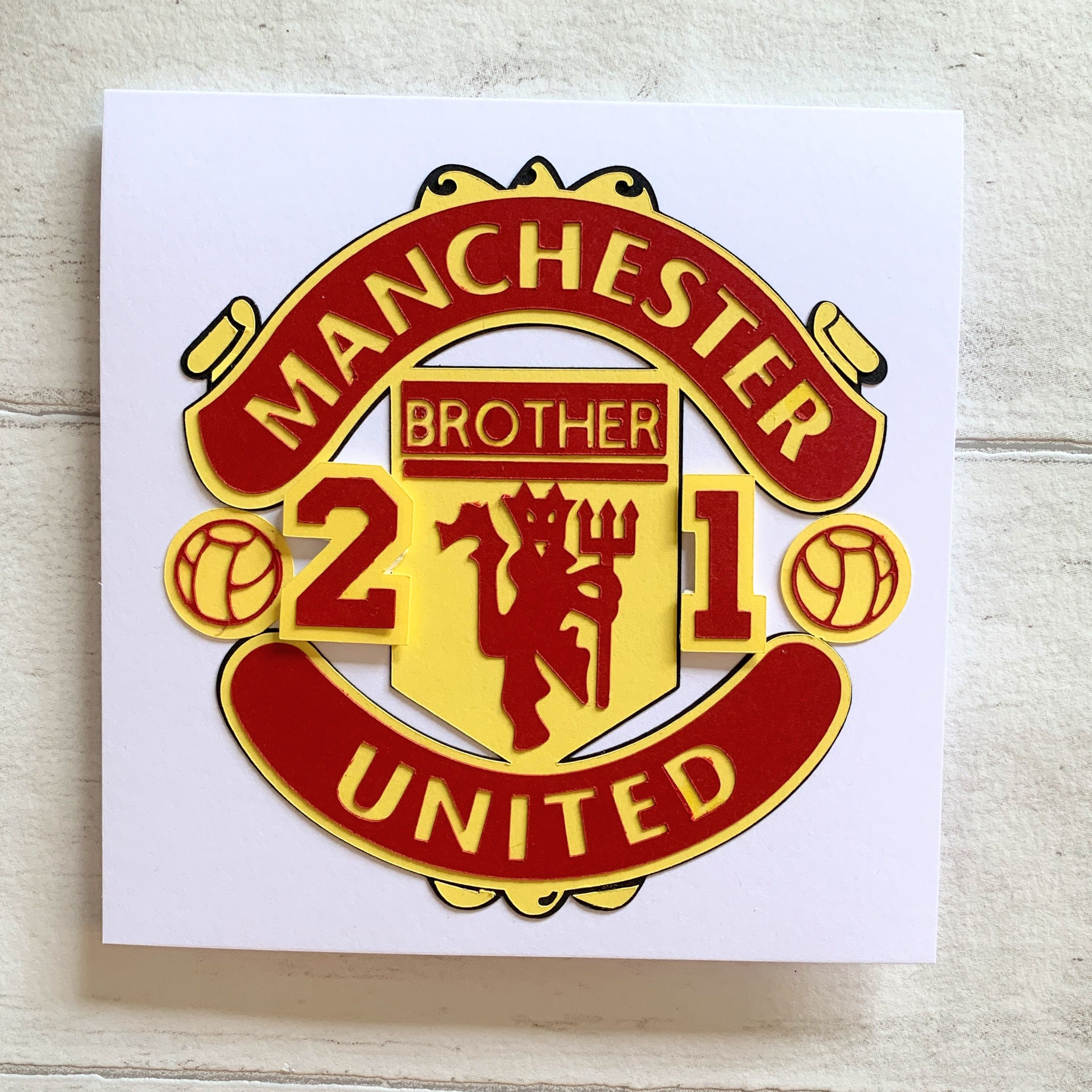 Man Utd In 2020 Football Cake Toppers Christening Cake Topper Birthday Cake Toppers