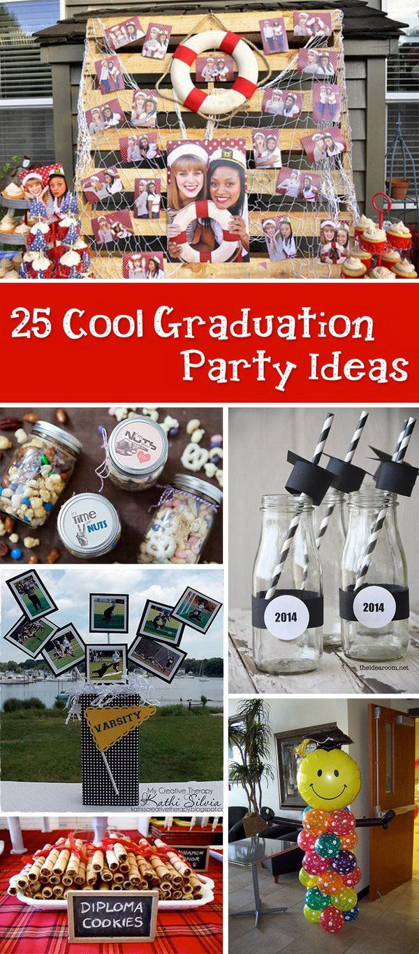 cool graduation party ideas! | graduation party | graduation, party