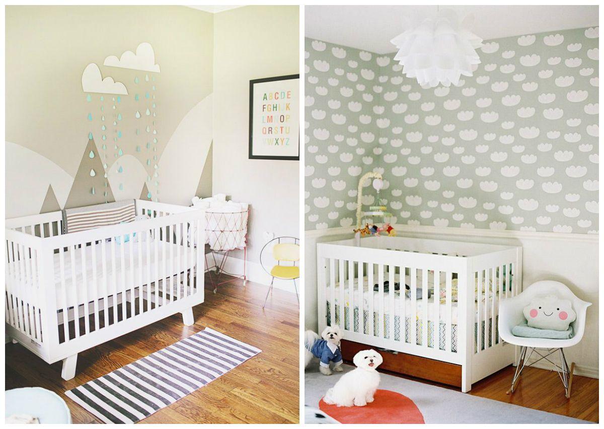 Quartos neutros para bebês e crianças  Decoração neutra, Quartos e Quarto ne