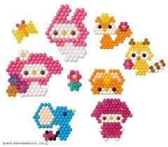 Epoch Aqua Beads Art animal set New Japan