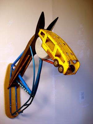 Assemblage Horse Ohio Craft Museum By Leonard Streckfuss Art