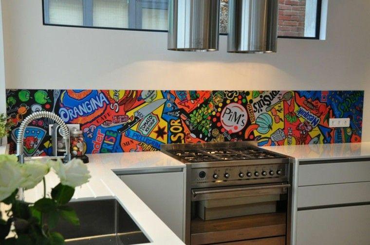 Encantador Ideas Del Arte Para La Cocina Galería - Ideas de ...