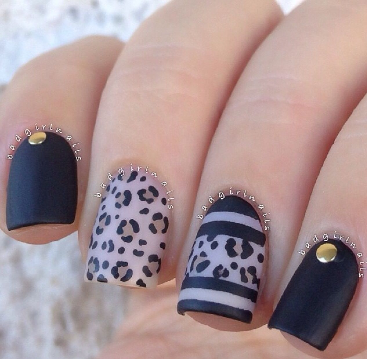Pin by Alondra Rodriguez on Nails | Pinterest | Leopard print nails ...