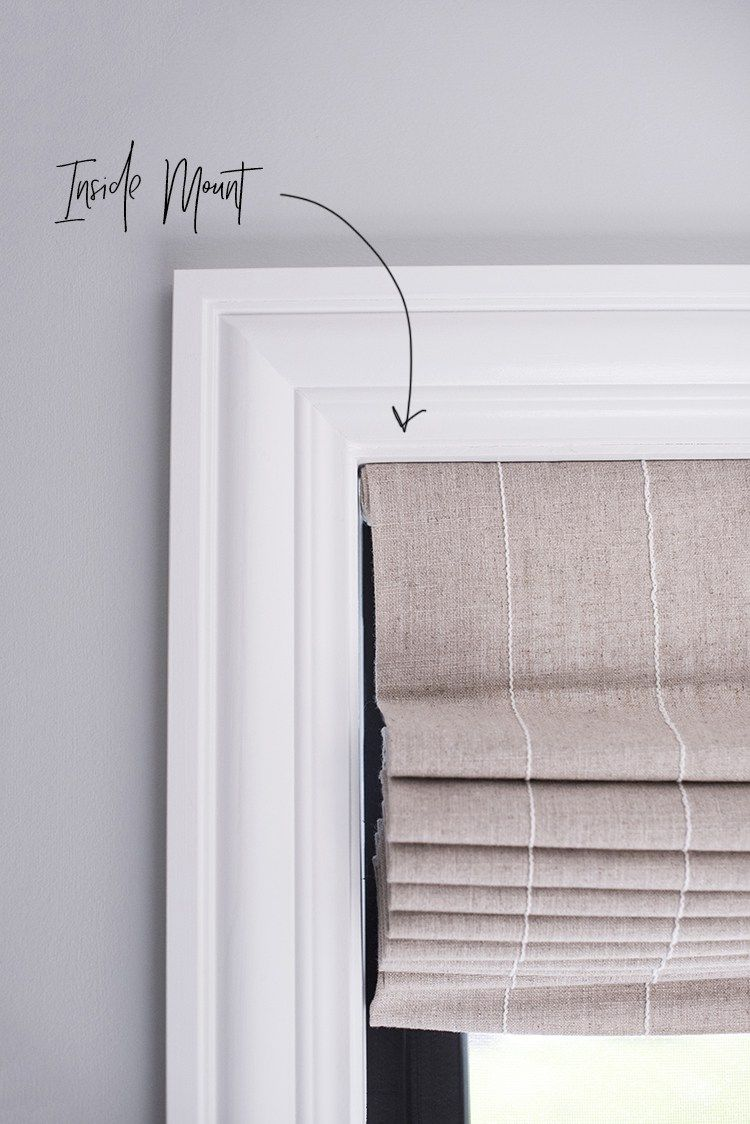 How We Choose Roman Shades Room For Tuesday Blog Roman