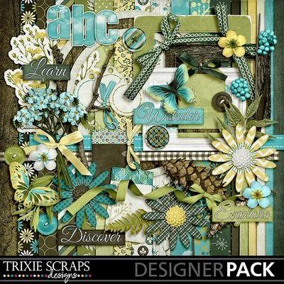 Digital Scrapbooking Kits | Nature Walk Kit-(ts_) | Boys, Camping, Family, Girls, Nature, Outdoors | MyMemories