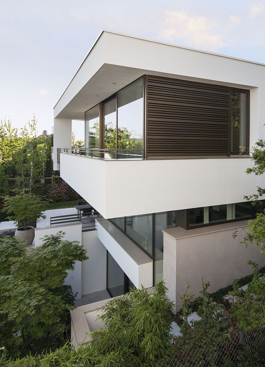 Pin by tobias hofmann on portfolio pinterest stuttgart haus and house - Fmb architekten ...
