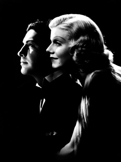 Robert Taylor and Jean Harlow