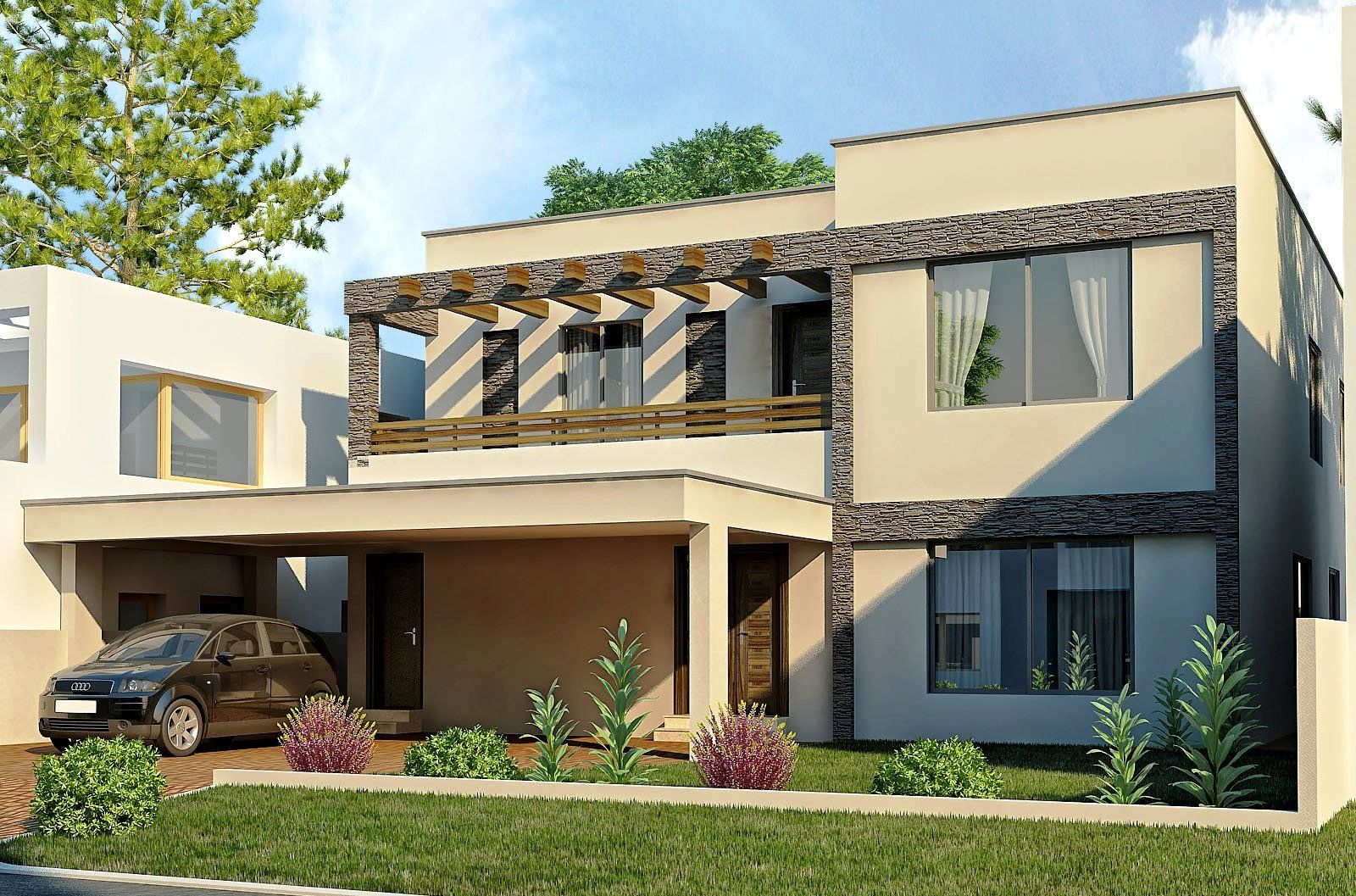 new home exterior designs. modern homes  Modern exterior designs views gardens ideas
