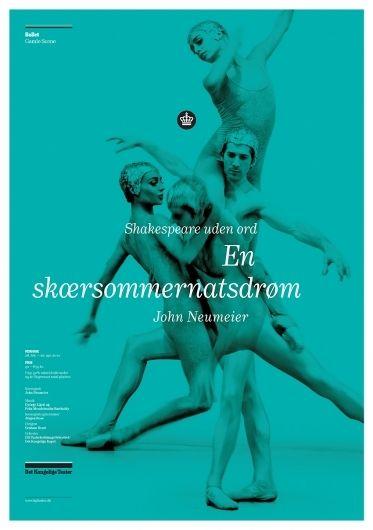e-types (Copenhagen, Denmark) for the Det Kongelige Teater (Royal Danish Ballet),  2010, photo: Casper Sejersen