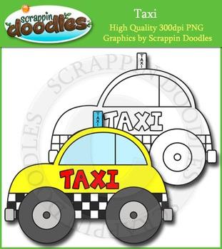 Taxi Clip Art Single Image