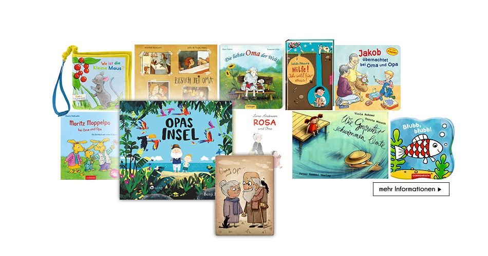 Bücher zum Thema Oma und Opa #oma #opa #buecher #kinderbuch #kinderbücher #lesen #vorlesen #storybooks #storytime #readingtime