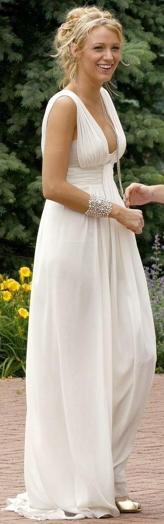 A beautiful white gown such as this would make my day, my life. my ...