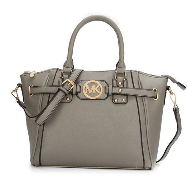 Cheap Michael Kors Pebbled Leather Large Grey Satchels Clearance Check out  the website to see