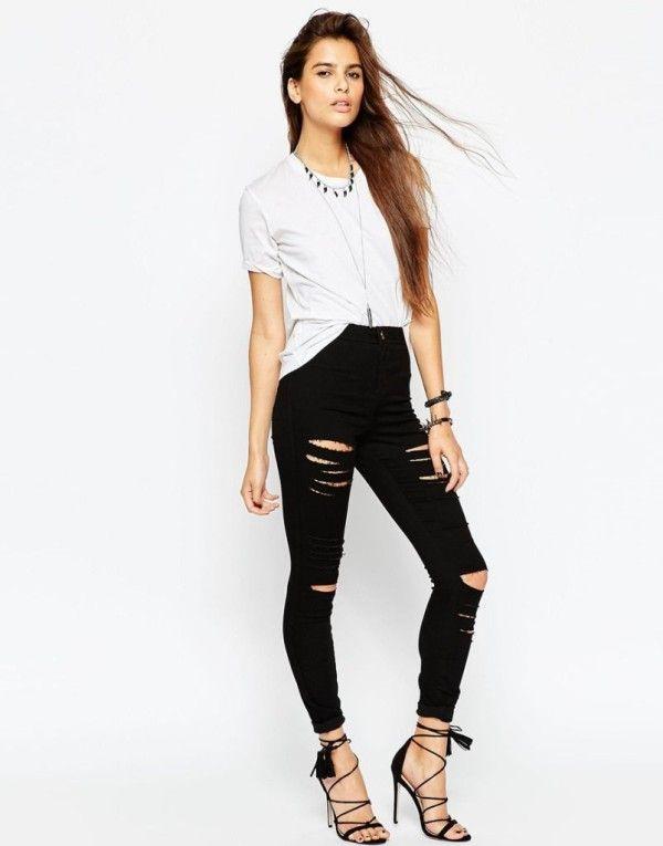 ecddb48e Moda Otoño Invierno para mujer 2015-2016: Jeans y Pantalones ...
