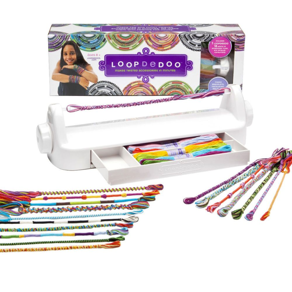 how to make loom bracelets with your hands