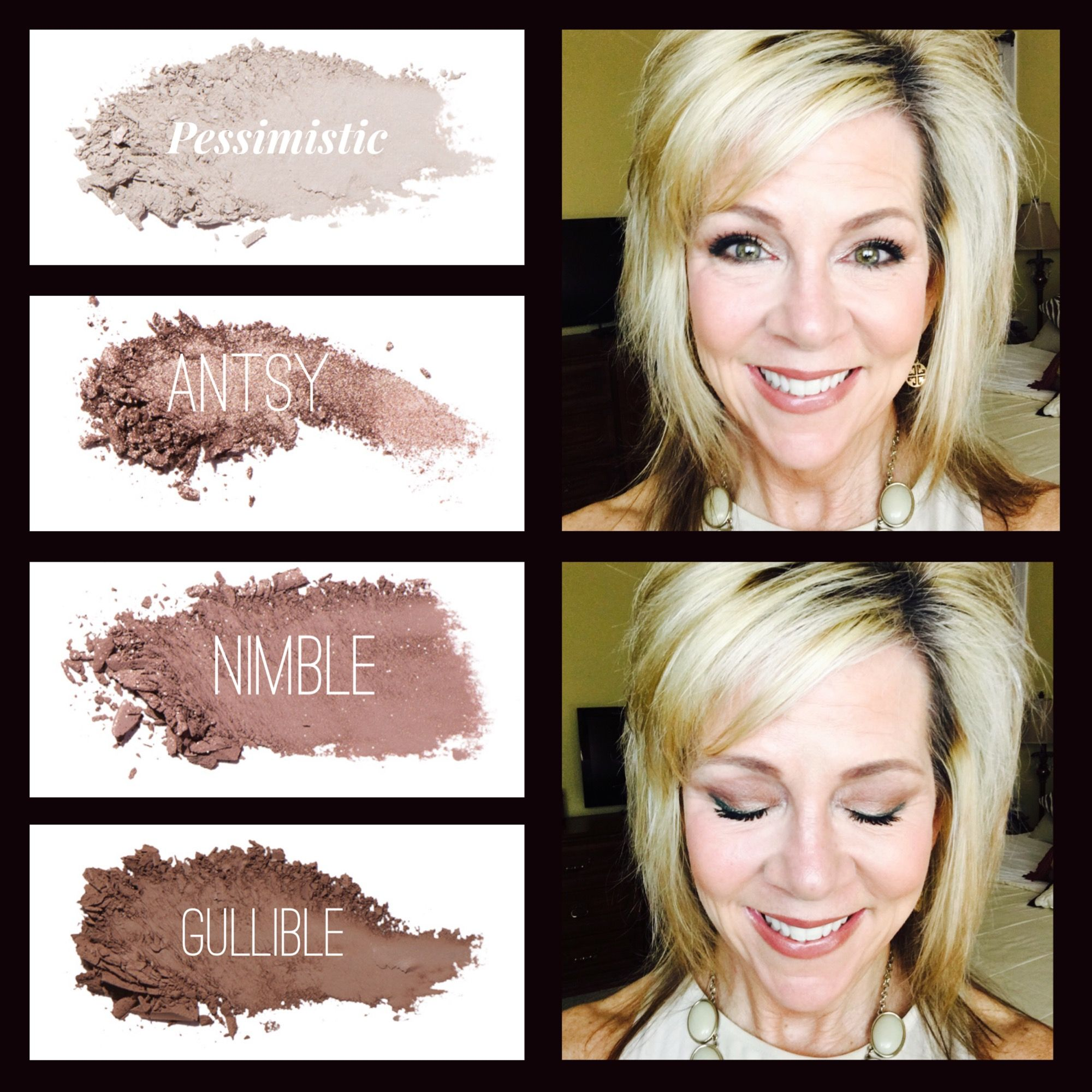 Younique Pressed Eye Shadows are infused with primer. Long lasting beautiful color! #youniquepressedshadows