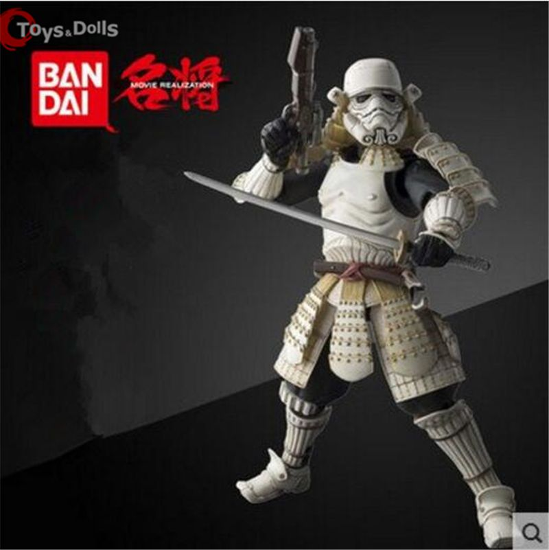 17cm Star Wars New Star Wars Action Figures Storm trooper Darth Vader Boba Fett Sic Samurai Taisho Realization Anime