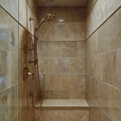 Ceramic Tile Walk In Showers Designs Design Pictures Remodel Decor And Ideas Page 2 Traditional Bathroom Narrow Bathroom Designs Doorless Shower
