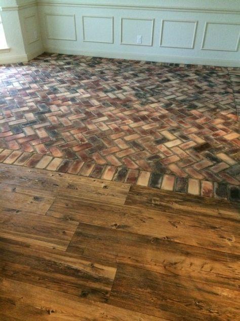 Ceramic Wood Tile and Brick Flooring Cucine Pinterest