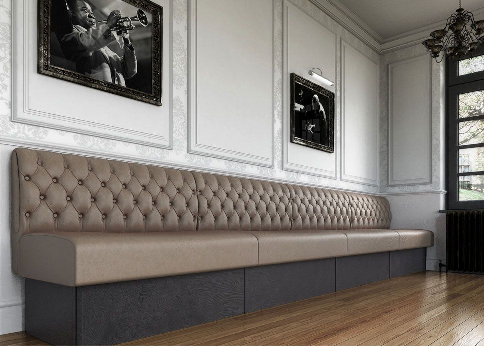 banquette seating how to build banquette seating fixed seating bench seating lower. Black Bedroom Furniture Sets. Home Design Ideas