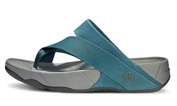 Fitflop shoes, Stylish shoes, Blue slippers